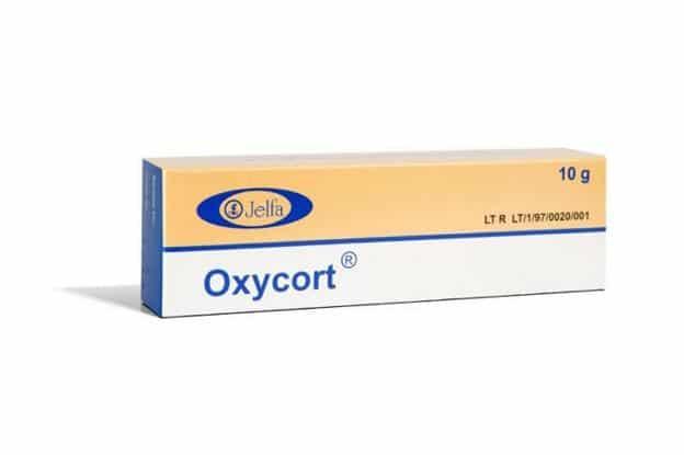 Oxycort na trądzik